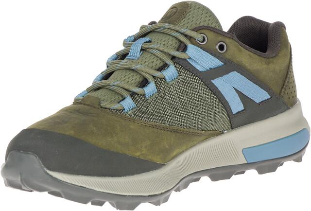 Merrell Zion GTX Schuhe Damen dark olive